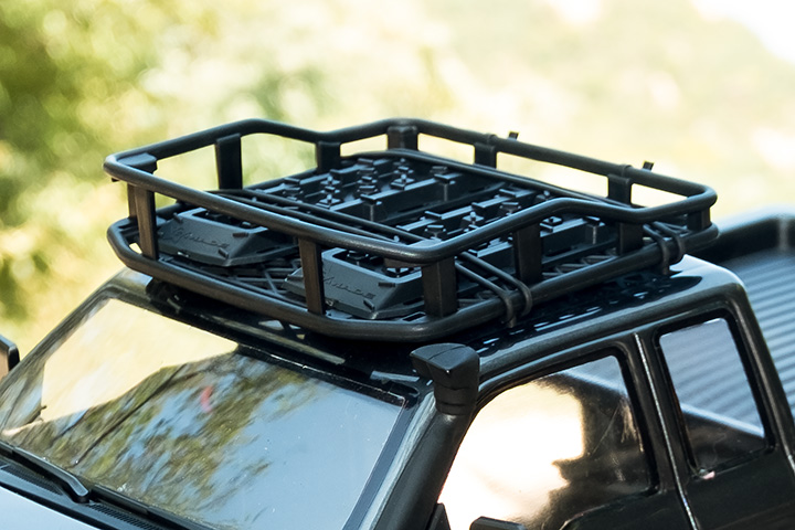 Captivating Gmade 1/10 Scale Off Road Roof Rack U0026 Accessories